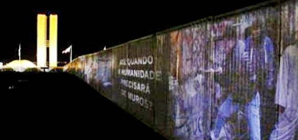Muro do impeachment, o muro da vergoha