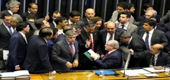 Parlamentares na Câmara dos Deputados