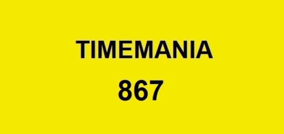 Concurso Timemania 867 deste sábado.
