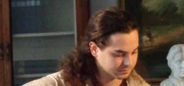 Dario Bevacqua, il chitarrista della serata.