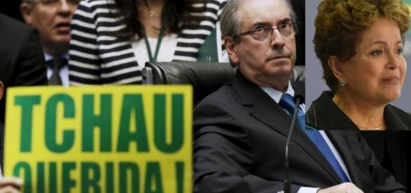 Maioria dos deputados votaram pela saída de Dilma