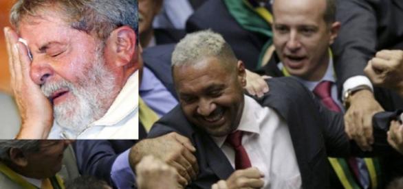 Lula e Tiririca - Foto/Montagem