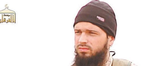 Maxime Hauchard, terrorista do EI que ameaçou o Brasil em postagem no Twitter