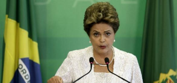 Presidente Dilma em entrevista coletiva