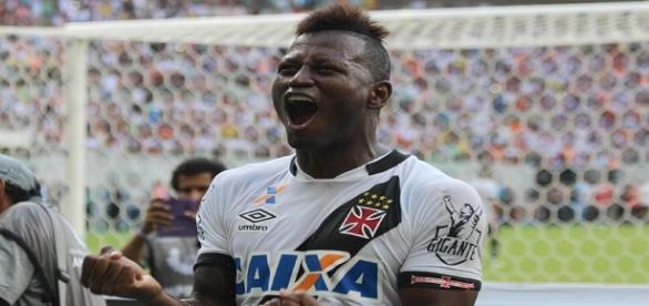 Riasco, autor do gol do título do Vasco.