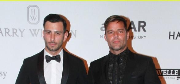 Ricky Martin e o novo namorado em São Paulo