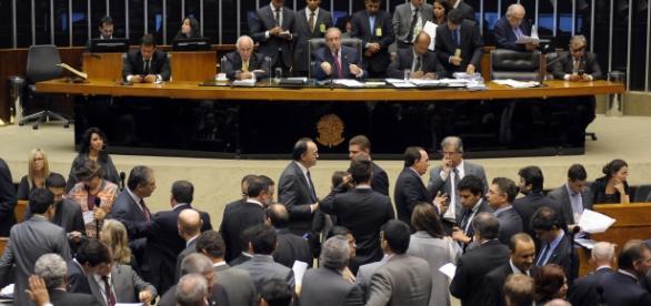 Sessão de votação do processo de impeachment.