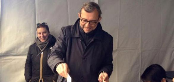 Il candidato del PD, Roberto Giachetti