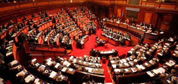 L'aula del Senato della Repubblica Italiana