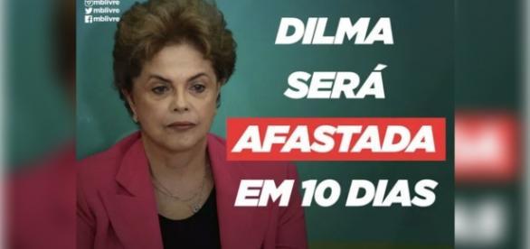 Oposição quer Dilma afastada em 10 dias.