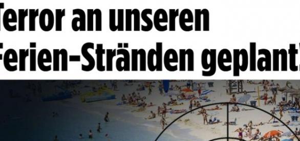 """Secondo il quotidiano tedesco """"Bild"""" l'Isis starebbe progettando attacchi nelle spiagge d'Europa"""