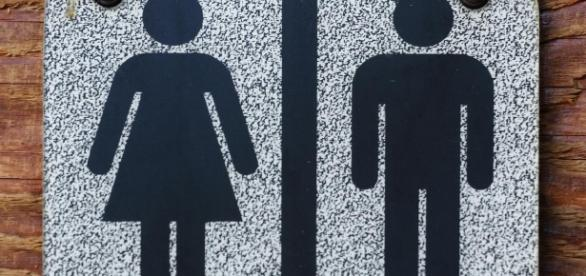 Standard bathroom designation, photo via FreeRange, Chance Agrella
