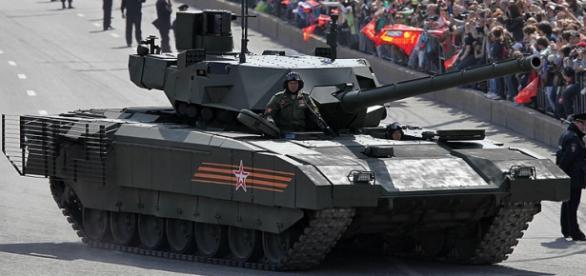 Supertancul ARMATA va fi coloana vertebrală a blindatelor construite de Rusia