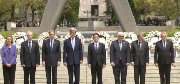 Historico homenaje a las victimas de Hiroshima Afp