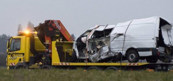 O acidente matou doze imigrantes portugueses