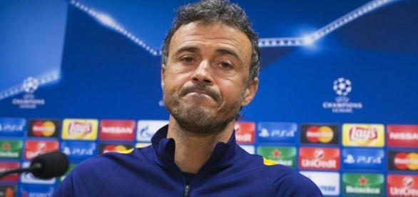 Luis Enrique se siente molesto por el fracaso en Champions