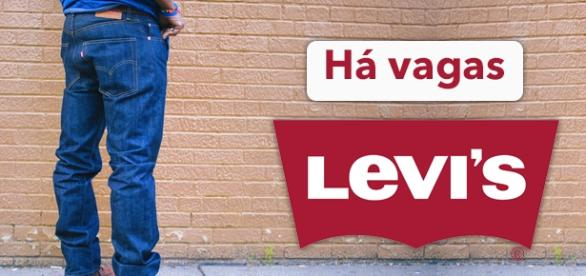 Vagas abertas na Levi's. Foto: Reprodução Stylenochaser.