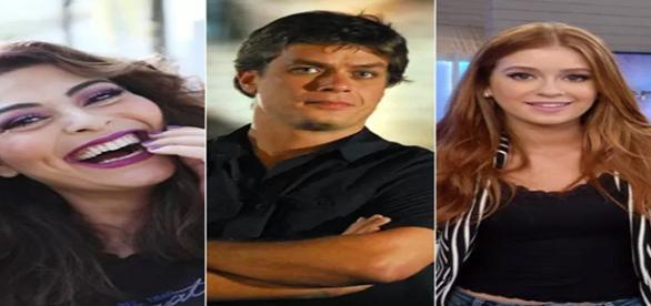 Alguns dos principais atores da novela Totalmente Demais