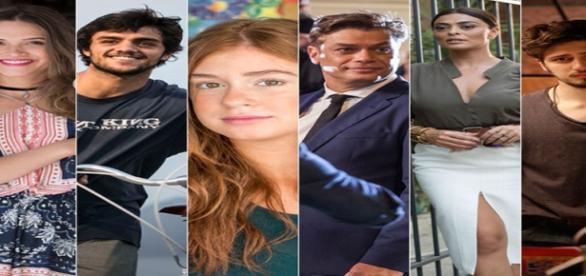 Elenco da novela Totalmente Demais da Rede Globo