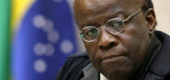 Ex-ministro do STF, Joaquim Barbosa