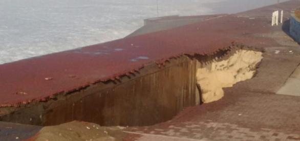 Grande vala em São Conrado: outro problema grave na região (Salvemos São Conrado/Facebook)