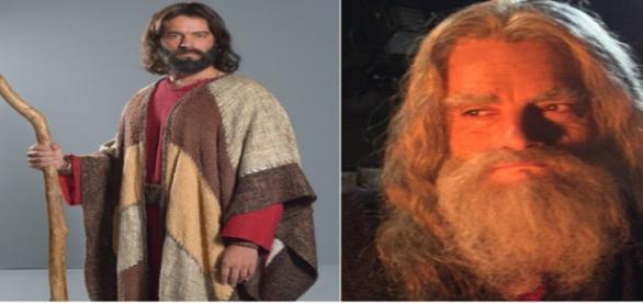 Moisés em 'Os Dez Mandamentos' da TV Record