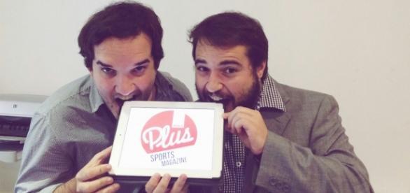 Nacho y Pablo, coeditores de MARCA Plus