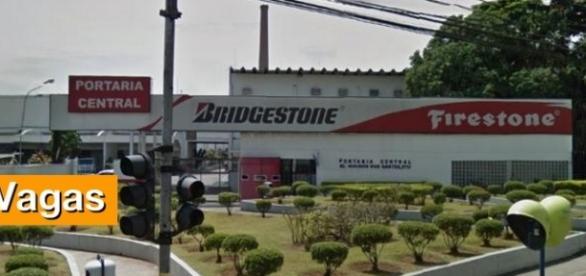 Sede da Bridgestone em Santo André