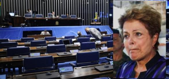 Dilma no Congresso Nacional - Foto/Reprodução