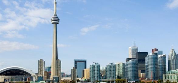 Toronto Ontario on the Shores of Lake Ontario