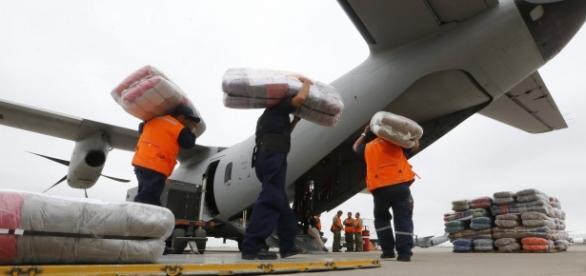 Ayuda para los afectados del terremoto de Ecuador