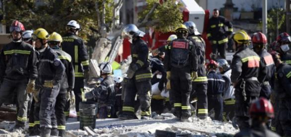 Explosão provocou muitas vítimas