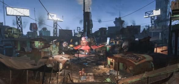 'Fallout 4' Diamond City screencap via John Schulze