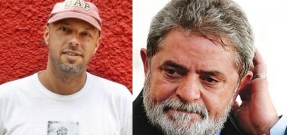 José Padilha e Luiz Inácio Lula da Silva - Foto/Montagem