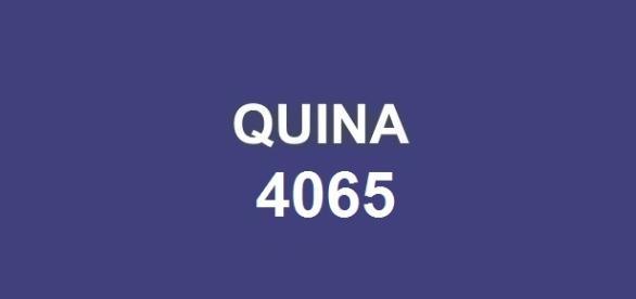 Quina 4065; Sorteio realizado em UMUARAMA.