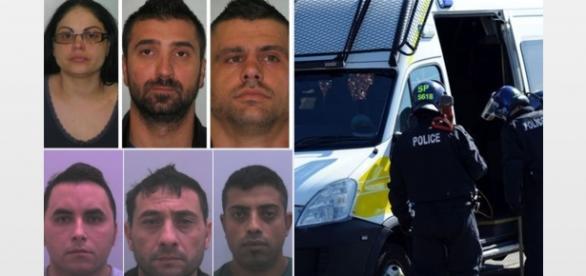 Români arestați pentru activități ilegale în UK