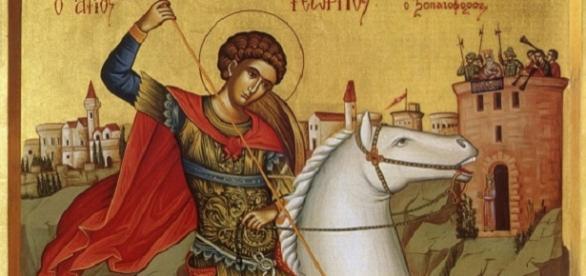 Sfântul Mucenic Gheorghe, purtătorul de biruință