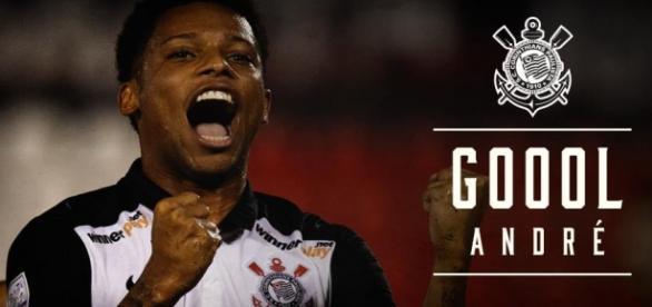 André fez três gols nos últimos jogos