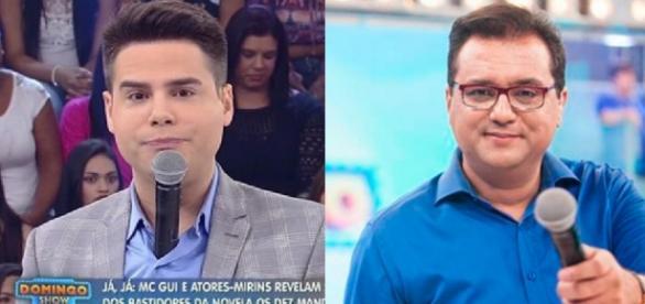Luiz Bacci e Geraldo Luís - Foto/Montagem: TV Record