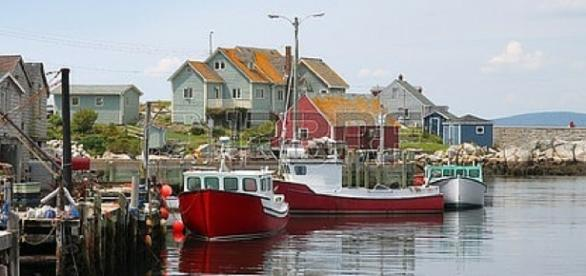The Maritimes Fishing Village on the Atlantic