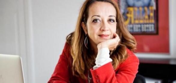 A conhecida e feminista jornalista Ebru Umar