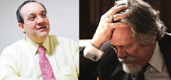 Advogado e José de Abreu - Foto/Montagem