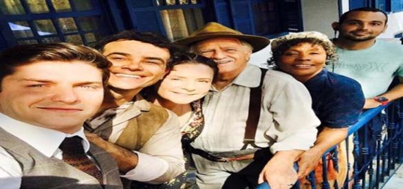 Alguns dos personagens de Êta Mundo Bom da Rede Globo