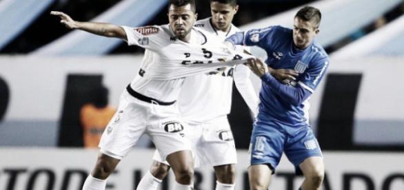 Atlético-MG empata com o Racing pela Libertadores.