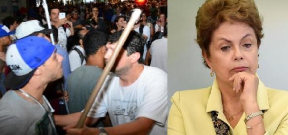 Confronto na paulista - Imagem 1 Estadão - Imagem 2 Google