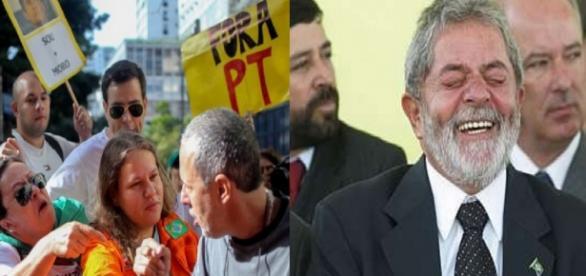 Protesto contra Lula - Foto/O Globo
