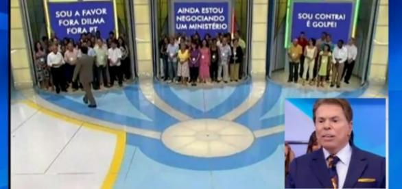Silvio Santos ensina a deixar votações mais rápidas
