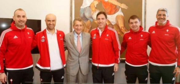 Berizzo y todo su equipo técnico renuevan un año más con el Celta