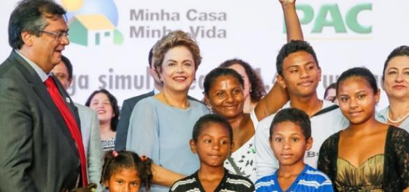 Dilma em cerimônia do Minha Casa, Minha Vida