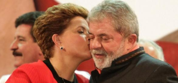 Dima Rousseff e Lula - Foto: Google